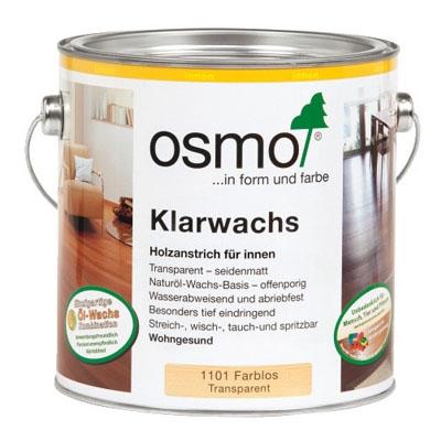 Масло с воском для твердых пород древесины Klarwachs