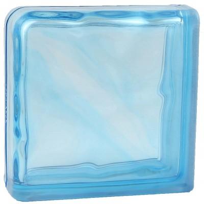 Завершающий Голубой Волна окрашенный в массе