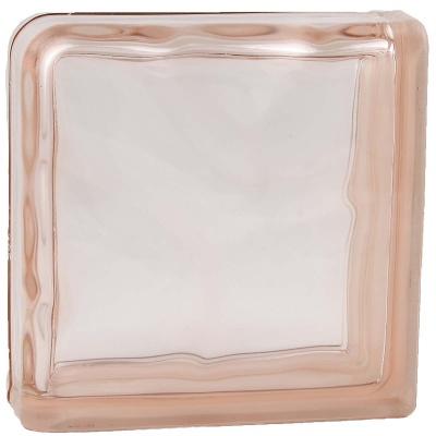 Завершающий Розовый Волна окрашенный в массе